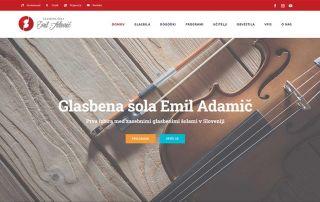 Prenovljena spletna stran GŠ Emil Adamič